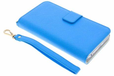 Selencia Wallet Booktype voor iPhone 8 Plus / 7 Plus - Blauw