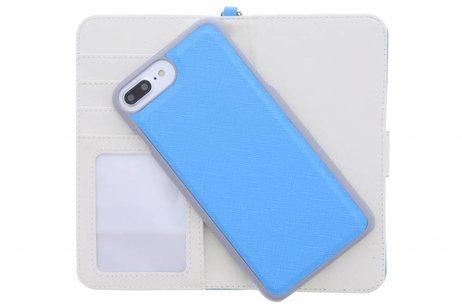 Wallet Booktype voor iPhone 8 Plus / 7 Plus - Blauw