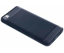 Donkerblauw Brushed TPU case Xiaomi Mi 5