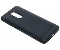 Zwart Brushed TPU case Xiaomi Redmi 5 Plus / Redmi Note 5