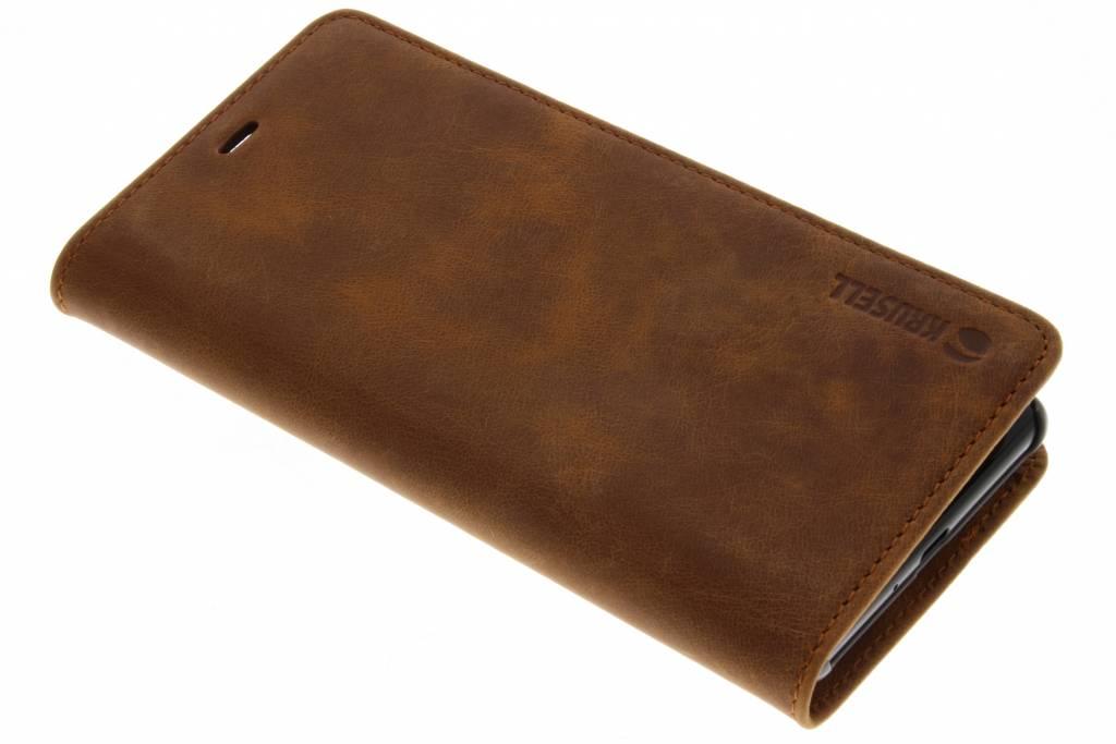 Krusell Bruine Sunne Folio Wallet voor de Sony Xperia XZ2
