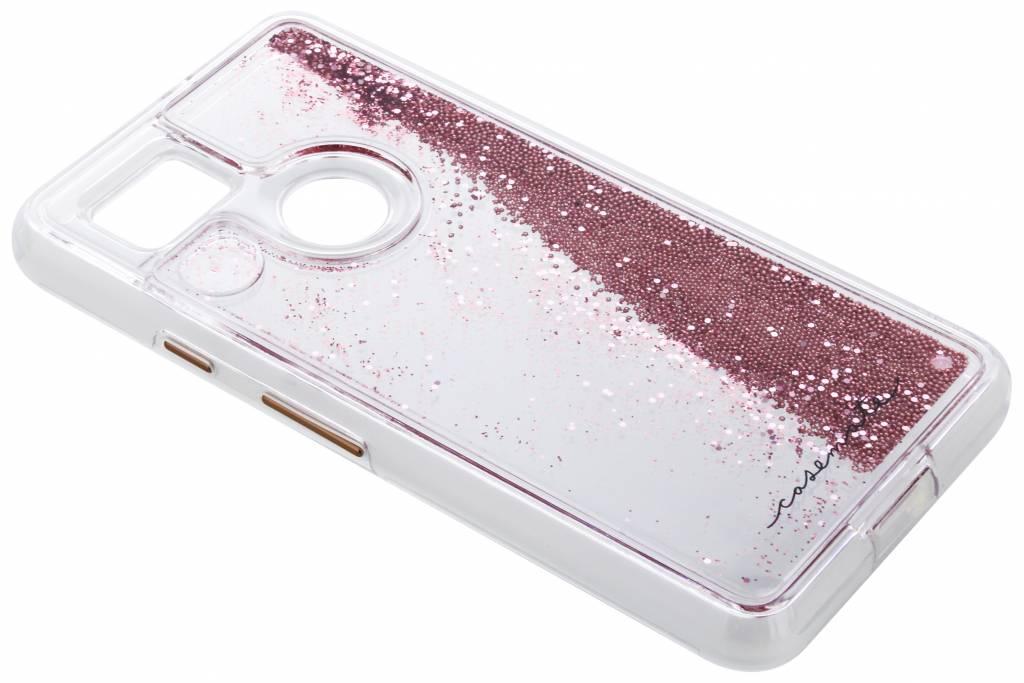 Roze Naked Tough Waterfall Case voor de Google Pixel 2 XL