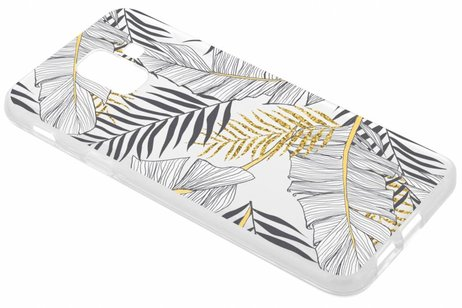 Design Backcover voor Samsung Galaxy A6 (2018) - Glamour Botanic