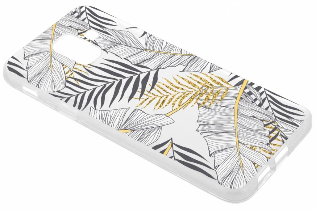 Botanic design siliconen hoesje voor de Samsung Galaxy A6 (2018)