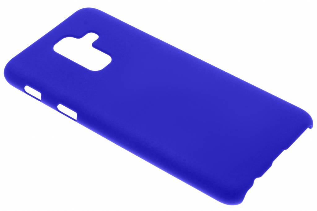Blauw effen hardcase hoesje voor de Samsung Galaxy A6 Plus (2018)
