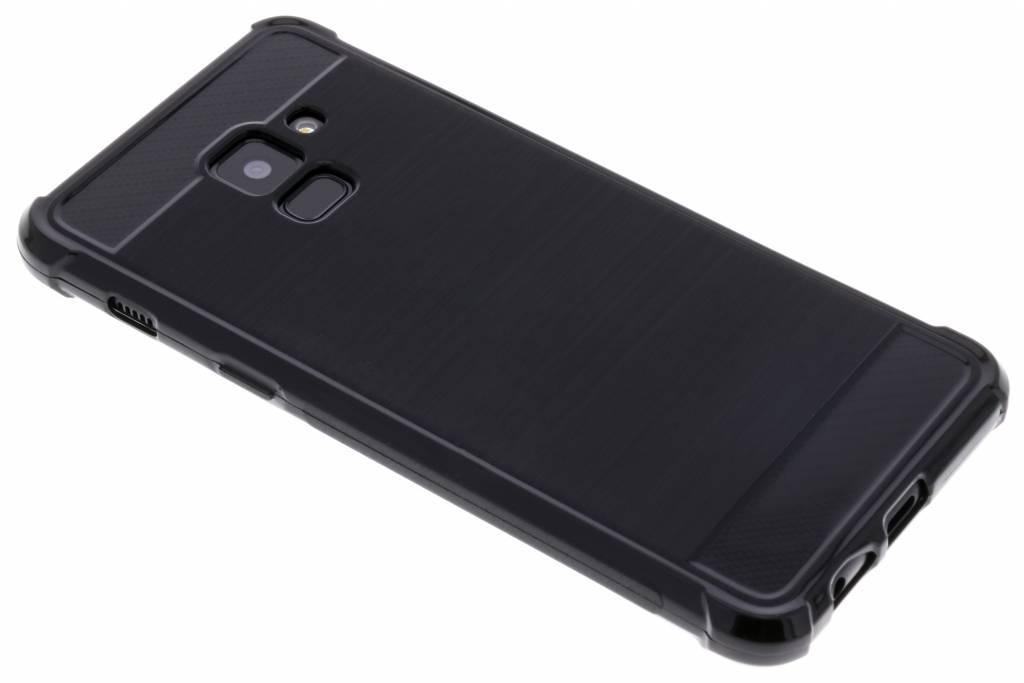 Zwart Xtreme siliconen hoesje voor de Samsung Galaxy A8 (2018)
