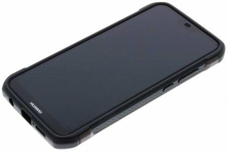 Army Defender Backcover voor Huawei P20 Lite - Bruin