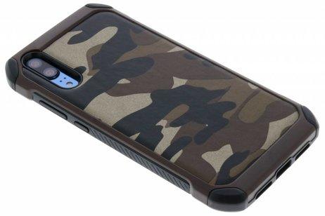Huawei P20 hoesje - Army Defender Backcover voor