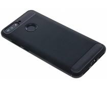 Zwart Brushed TPU case Huawei Y6 (2018)