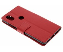 Rood TPU Bookcase Wiko View 2