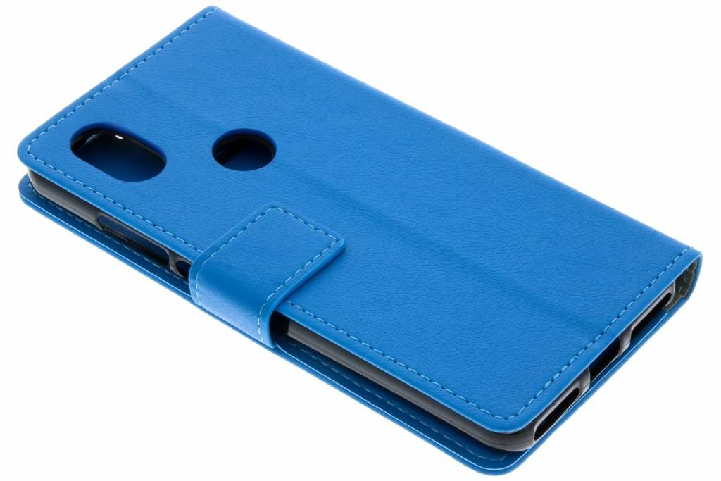 Basic Booktype voor Wiko View 2 - Blauw