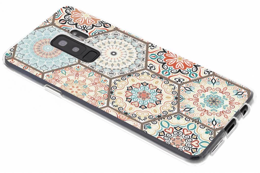 Hippie design TPU hoesje voor de Samsung Galaxy S9 Plus