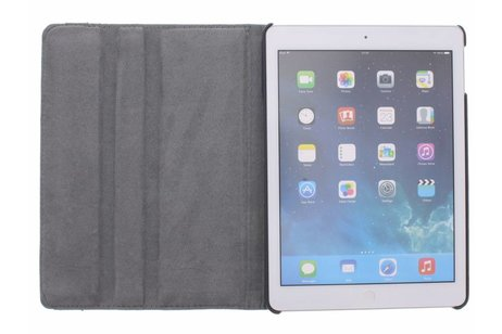 360° Draaibare Design Bookcase voor iPad Air - Vogel