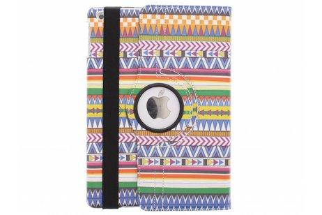 360° Draaibare Design Bookcase voor iPad Air - Aztec
