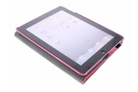 360° Draaibare Design Bookcase voor iPad 2 / 3 / 4 - Keep Calm