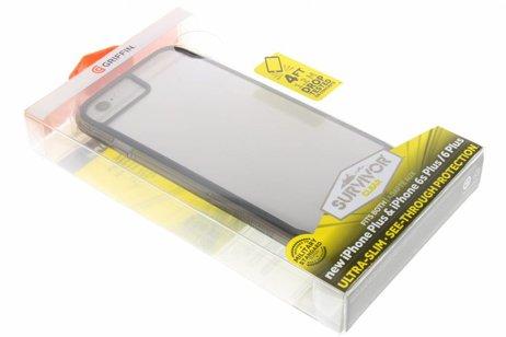 Griffin Survivor Clear Backcover voor iPhone 8 Plus / 7 Plus / 6(s) Plus - Zwart