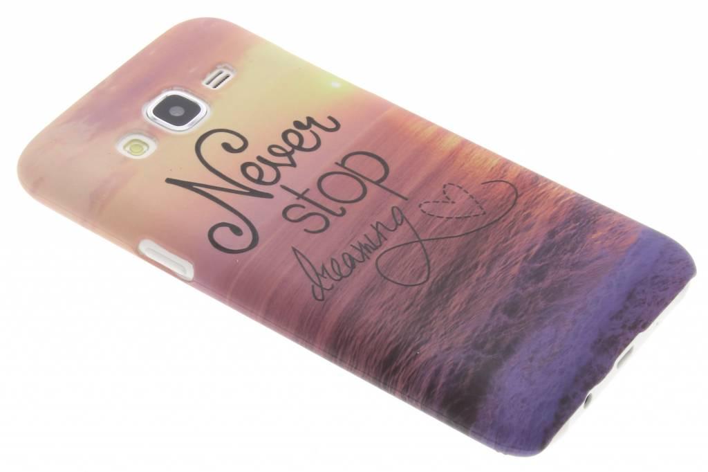 Dreaming design hardcase hoesje voor de Samsung Galaxy J5