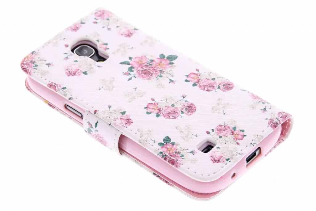 Fleurettes Conception Booktype Case Tpu Pour Samsung Galaxy S4 4uDDjxts