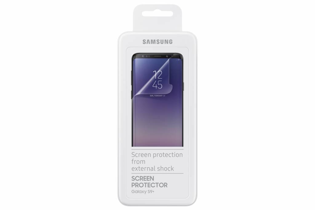 Screenprotector voor de Galaxy S9 Plus