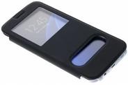 Be Hello Zwarte Window View Case voor de Samsung Galaxy S7 Edge