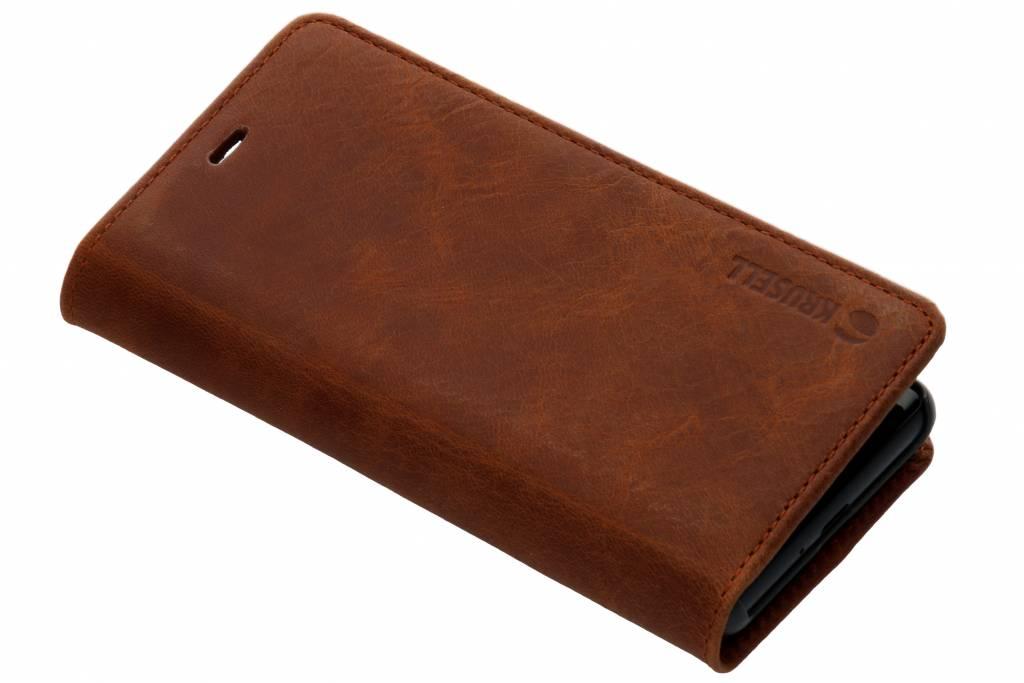 Krusell Bruine Sunne Folio Wallet voor de Sony Xperia XZ2 Compact