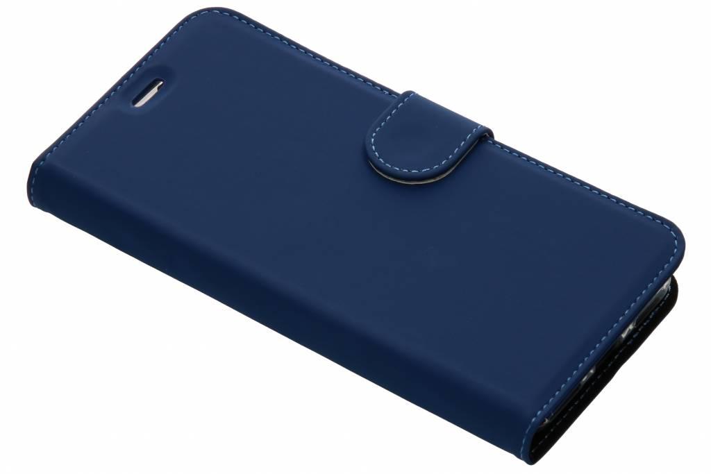 Accezz Blauwe Wallet TPU Booklet voor de General Mobile GM8