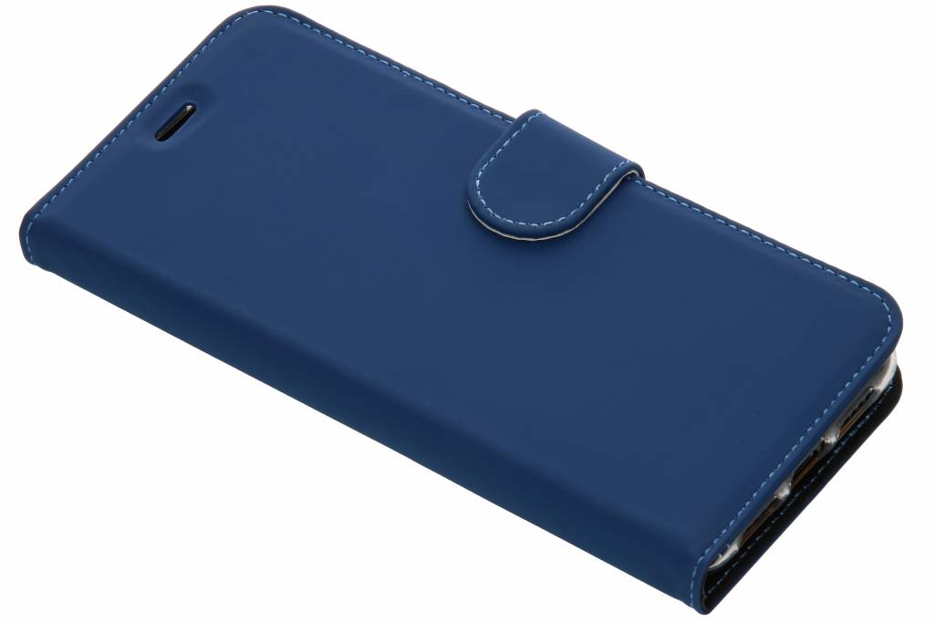Accezz Blauwe Wallet TPU Booklet voor de Huawei P20 Pro