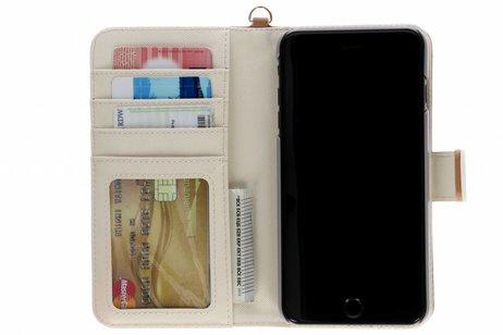 Selencia Wallet Booktype voor iPhone 8 Plus / 7 Plus - Bruin
