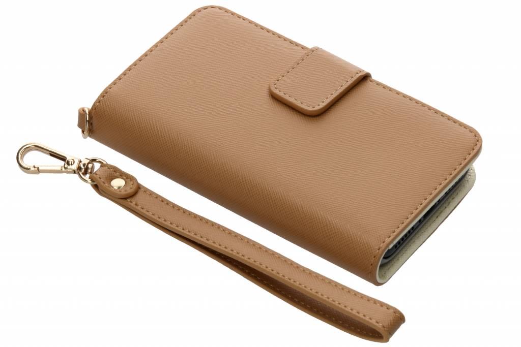 Selencia Bruine Wallet Case voor de iPhone 8 / 7 / 6s / 6