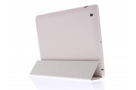 Luxe Bookcase voor iPad 2 / 3 / 4 - Beige