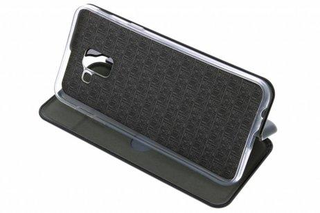 Slim Folio Booktype voor Samsung Galaxy J6 - Zwart