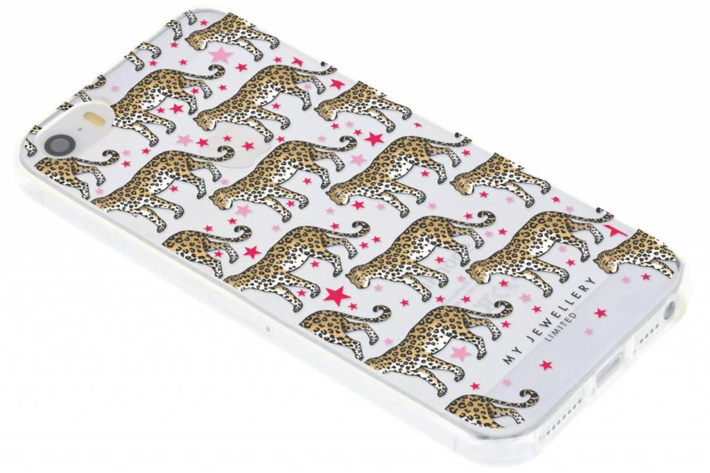 My Jewellery Cheetah Design Soft Case voor de iPhone 5 / 5s / SE