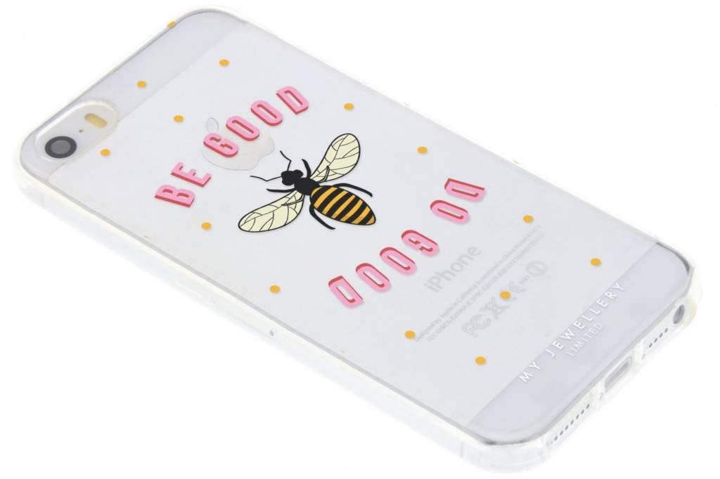 My Jewellery Be Good Design Soft Case voor de iPhone 5 / 5s / SE