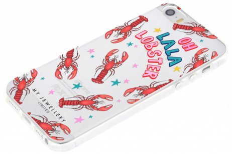 My Jewellery Design Backcover voor iPhone SE / 5 / 5s - Lobster