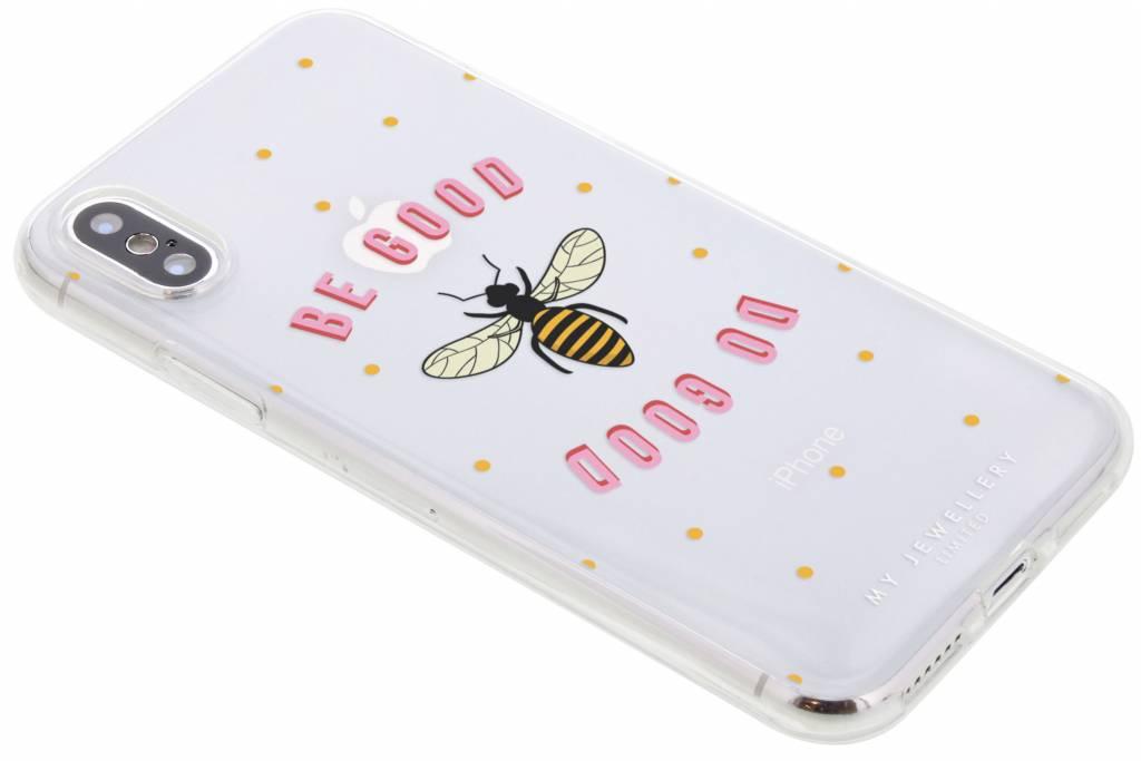 My Jewellery Be Good Design Soft Case voor de iPhone Xs / X