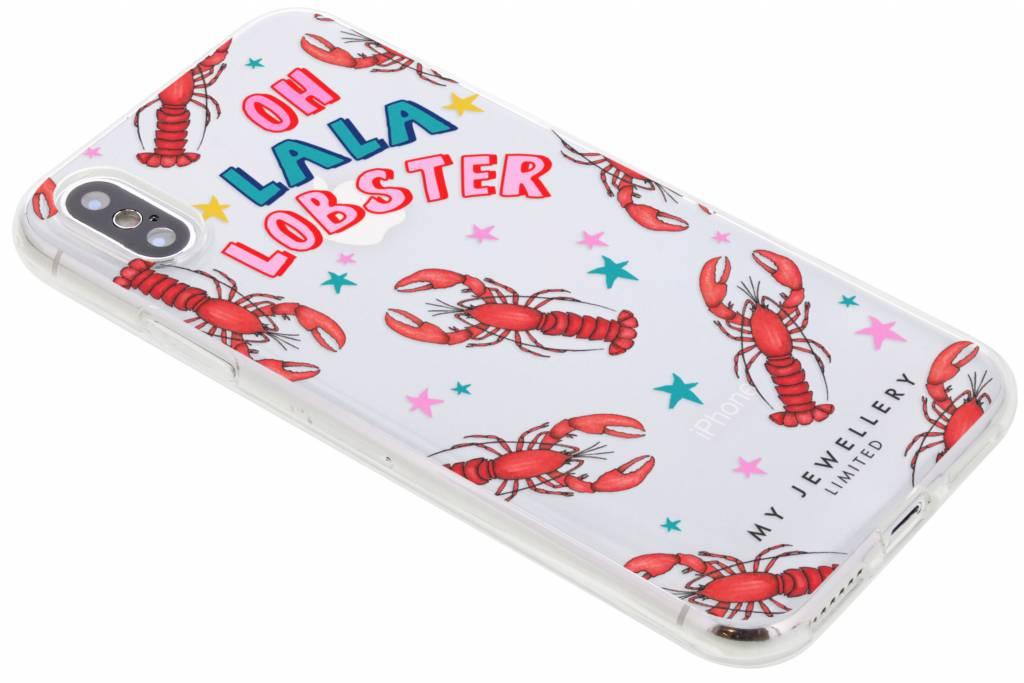 My Jewellery Lobster Design Soft Case voor de iPhone Xs / X