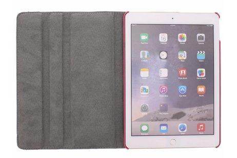 360° Draaibare Design Bookcase voor iPad Air 2 - Regenboog