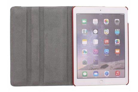 360° Draaibare Design Bookcase voor iPad Air 2 - Amerikaanse Vlag