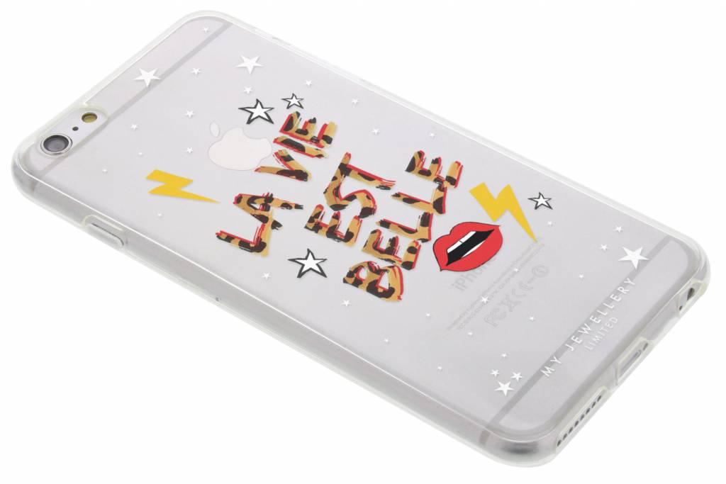 My Jewellery Quote Design Soft Case voor de iPhone 6(s) Plus