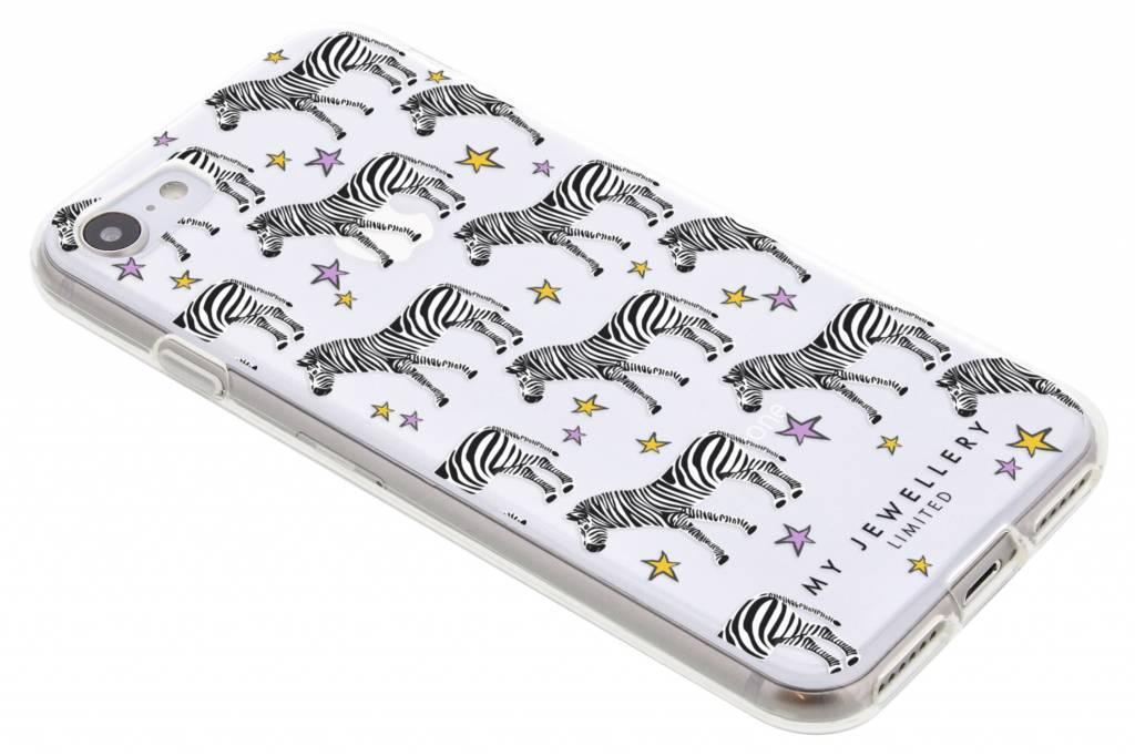 My Jewellery Zebra Design Soft Case voor de iPhone 8 / 7