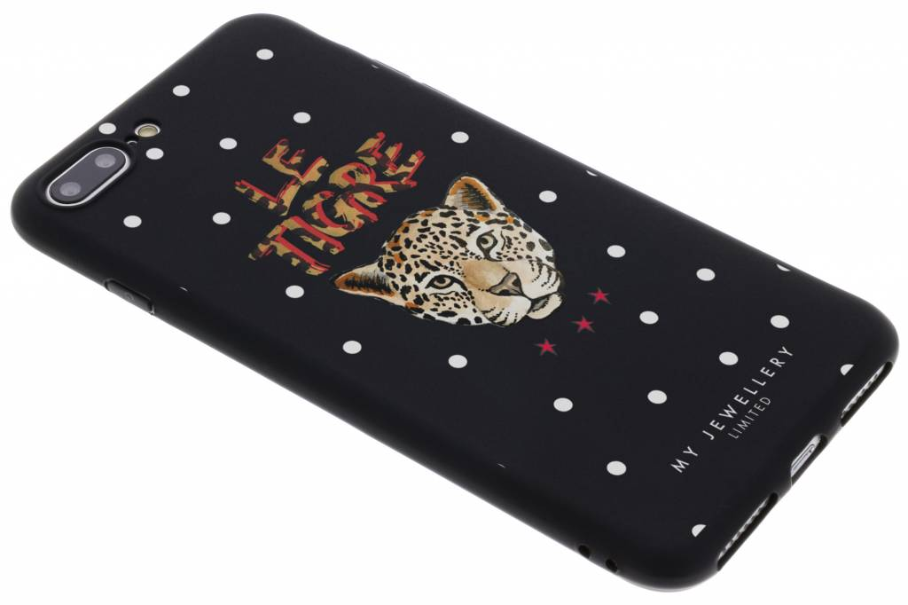 My Jewellery Design Backcover voor iPhone 8 Plus / 7 Plus - Le Tigre