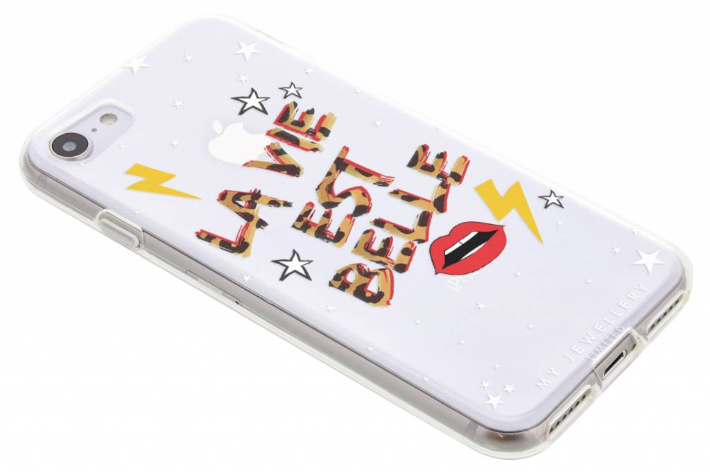 My Jewellery Quote Design Soft Case voor de iPhone 8 / 7