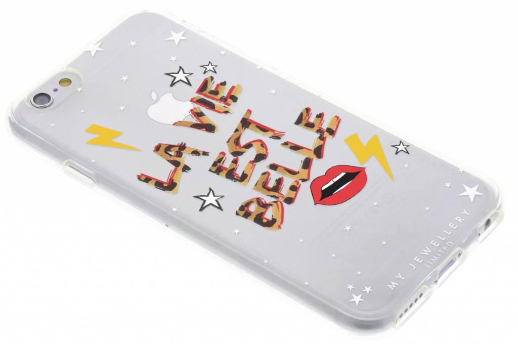 My Jewellery Quote Design Soft Case voor de iPhone 6 / 6s