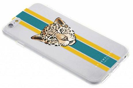 My Jewellery Design Backcover voor iPhone 6 / 6s - Leopard Groen