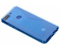 Blauw S-line TPU hoesje Huawei Y7 (2018)
