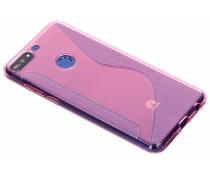 Roze S-line TPU hoesje Huawei Y7 (2018)