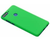 Groen effen hardcase hoesje Huawei Y7 (2018)