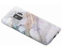 Marmer siliconen hoesje Samsung Galaxy S9