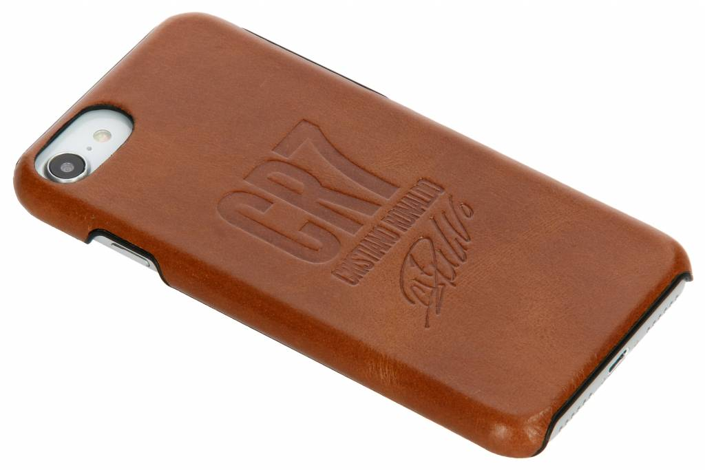 PanzerGlass Bruine CR7 Signature Edition Leather Case voor de iPhone 8 / 7 / 6s / 6