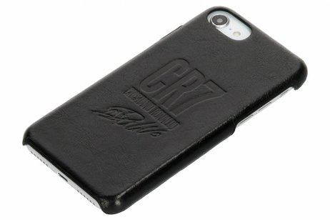 PanzerGlass CR7 Signature Leather Backcover voor iPhone 8 / 7 / 6s / 6 - Zwart
